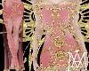 *Fairy Pink&Gold Dress
