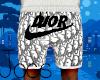 CD x Swoosh Shorts