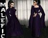 +m+ purple goth dress