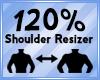 Shoulder Scaler 120%