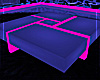 !D White/Pink Glow Table