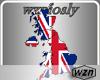 wzn U.K. Flag Map