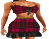 Tartan Ruffle Skirt