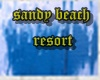 sandy beach resort room