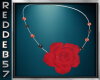 Red Rose Silver Black Nk