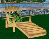 Wooden Lounger Chair sit