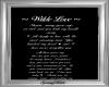 Wilde Love Custom