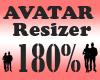 Avatar Scaler 180% / F