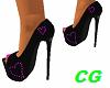 *CG* Pink Heart Heels