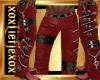 [L] Zipper RED Pants M