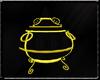 Gold Fairy Vase