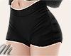 ☾ Black shorts vs