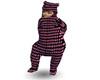 polkadot bear suit