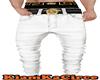 Pantalones Versace blanc