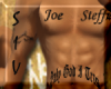 Joe Spec Request Tattoo