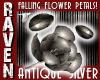 SILVER FALLING PETALS!