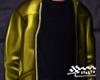 Leather Jacket Yellow