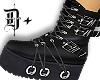 D+ Black Boots