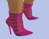 [B] Pink Ankle Heels