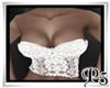 P5* White Sexy Corset