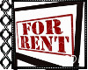 !C* F For Rent Sign