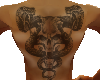 SNAKE back & belly Tatto