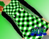 Green Plaid Dress
