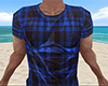 Blue Wet Shirt Plaid (M)