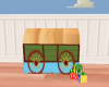 Toy Box Covered Wagon