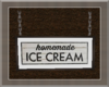 Hanging IceCream Sign