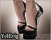 [Y] White skull heels