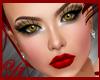 brunette gold red