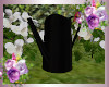 Black Watering Can