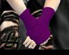 [LA] Purple Armwarmers