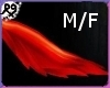 Red Wolf Tail Furry M/F