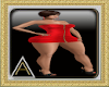 (AL)Rucha Dress RedL