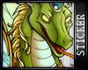 [FP]Green Dragon Sticker