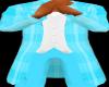 ~F~ BLUE PLAID TUX JAKET