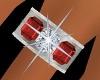 DiamondRuby Wedding Ring