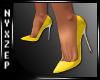 Yellow Stilleto Shoes