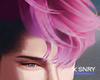 Luc hair . pink