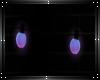 Neon wall lights