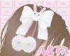 A. pink bun hairpin