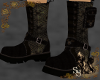 Steampunk Mr. Evil Boots