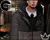 GL| FW Panel Coat & Tie