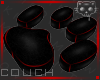 Couch BlackRed 2b Ⓚ