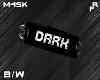 {F} B/W Dark Arm Band R