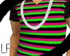 [LF] Retro V-neck tee