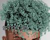 Mint Micro Curls '19