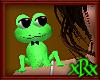 Frog Pet Animate Blk Tie